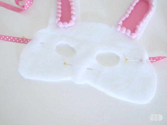Bunny Headband and Mask, 3rd Blogger Competition #1 - The Ribbon Retreat Blog