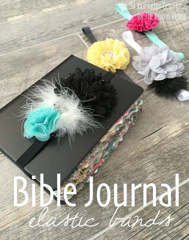 Bible Journal Elastic Bands - The Ribbon Retreat Blog