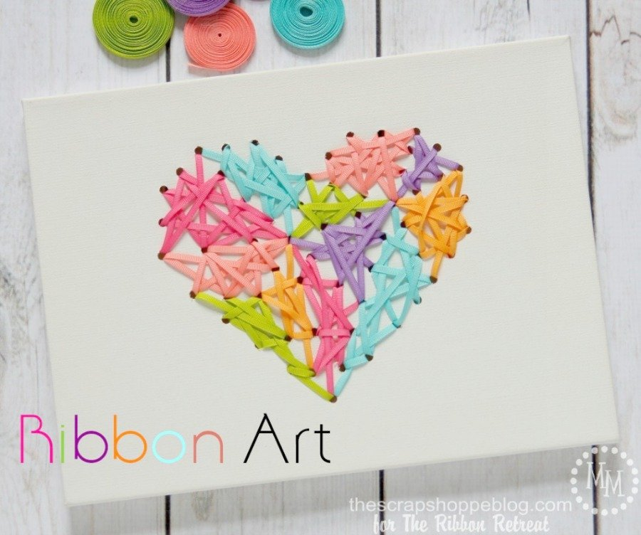 Simple Ribbon Art - The Ribbon Retreat Blog