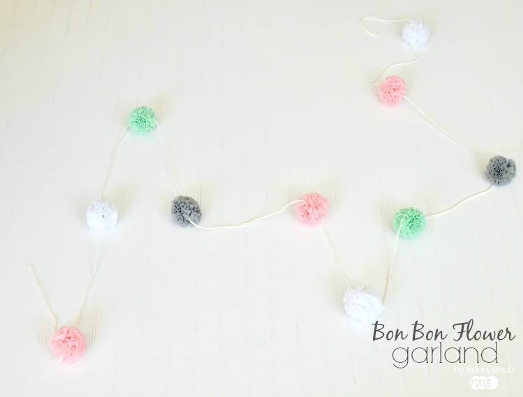 Bon Bon Flower Garland - The Ribbon Retreat Blog