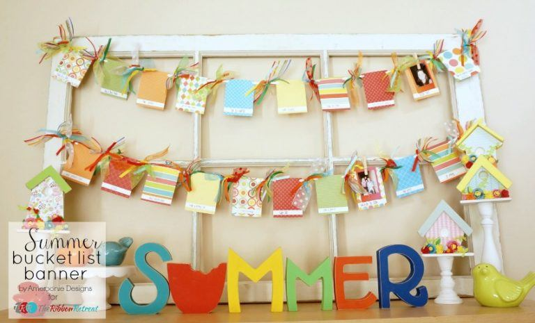 Summer Bucket List Banner - The Ribbon Retreat Blog