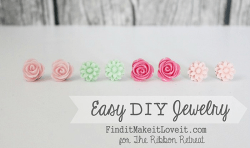 Easy DIY Resin Jewelry