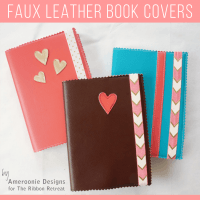 Faux Leather Book Covers