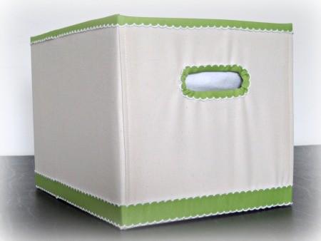 Cestosycestas 2 forrar tela caja carton for Forrar cajas de carton con tela