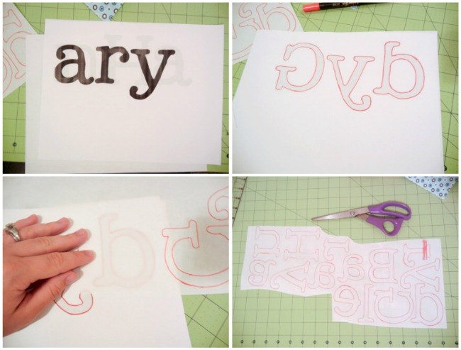 Baby Name Quilt: Tutorial - The Ribbon Retreat Blog