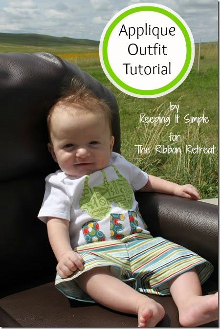 Applique Outfit Tutorial - The Ribbon Retreat Blog