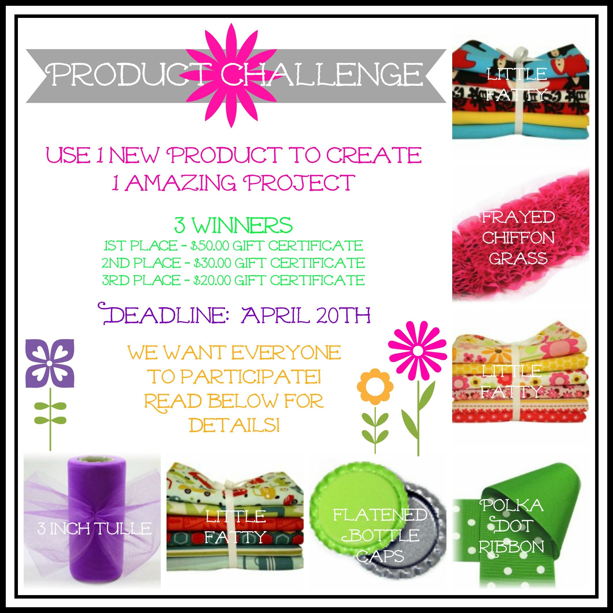 April Product Challenge - The Ribbon Retreat Blog
