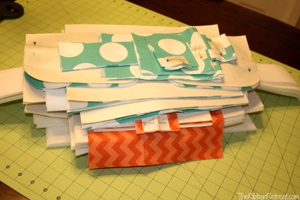 Bag Lady Series Week 2, Cutting Out Your Bag - The Ribbon Retreat Blog