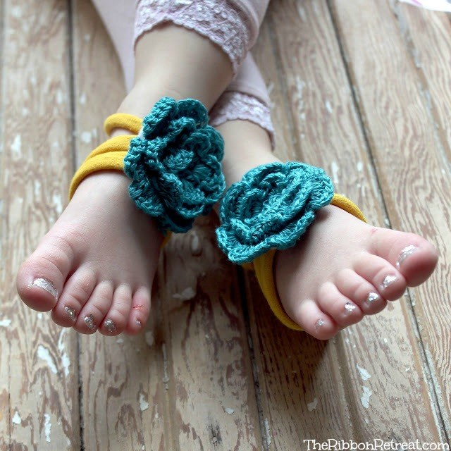 Barefoot Sandals - The Ribbon Retreat Blog