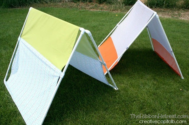 Basic Collapsible Plat Tent - The Ribbon Retreat Blog