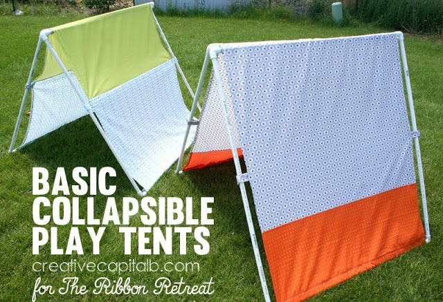 Basic Collapsible Play Tents - The Ribbon Retreat Blog