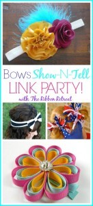 Bows Show-N-Tell Link Party #2 - The Ribbon Retreat Blog