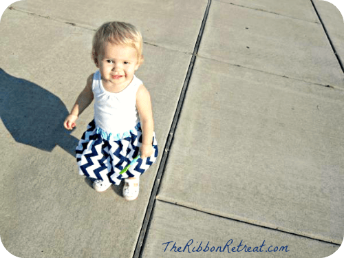 Super cute skirt for the little miss in your life!