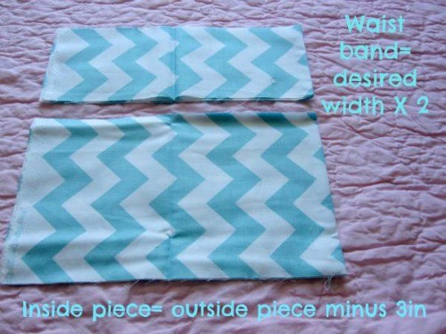 Measure and cut your skirt piece.