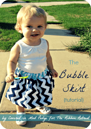 Learn how to make a darling bubble skirt to match the cutest little face!