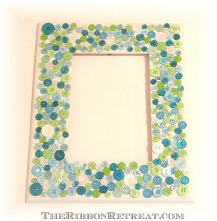 Button Frames - {The Ribbon Retreat Blog}