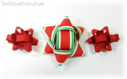 Christmas Package Bow - {The Ribbon Retreat Blog}