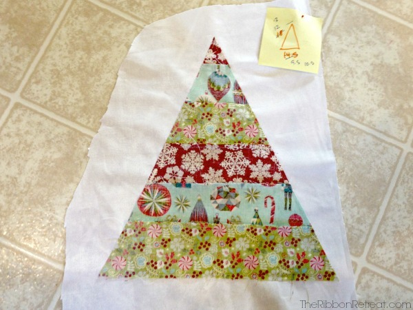 Christmas Tree Pillow - The Ribbon Retreat Blog