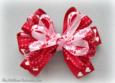 Crazy In Love Bow - {The Ribbon Retreat Blog}