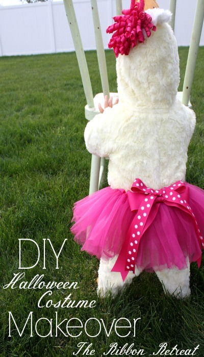 DIY Halloween Costume Makeover - The Ribbon Retreat Blog