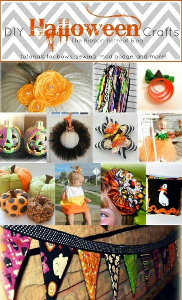 DIY Halloween Crafts - The Ribbon Retreat Blog