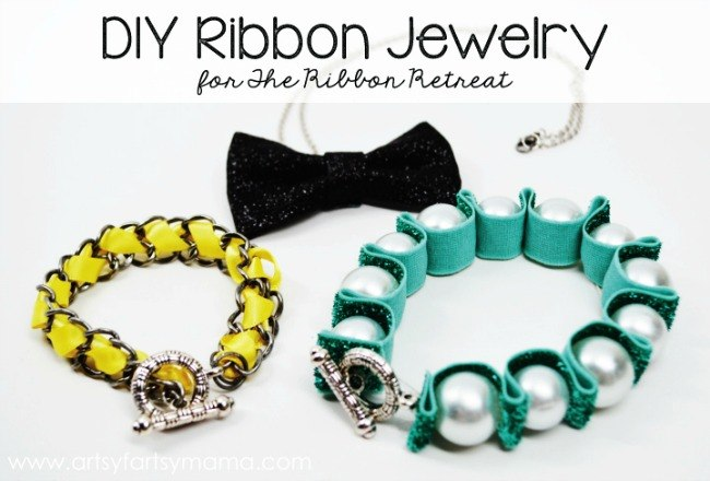 DIY Ribbon Jewelry - The Ribbon Retreat Blog