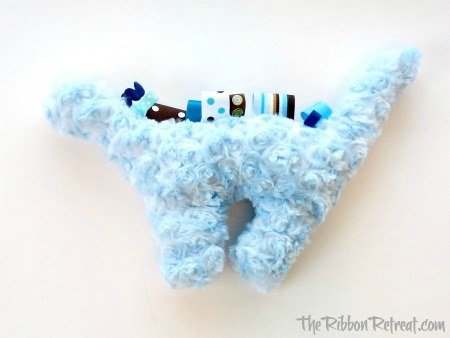 Dinosaur Softie - {The Ribbon Retreat Blog}