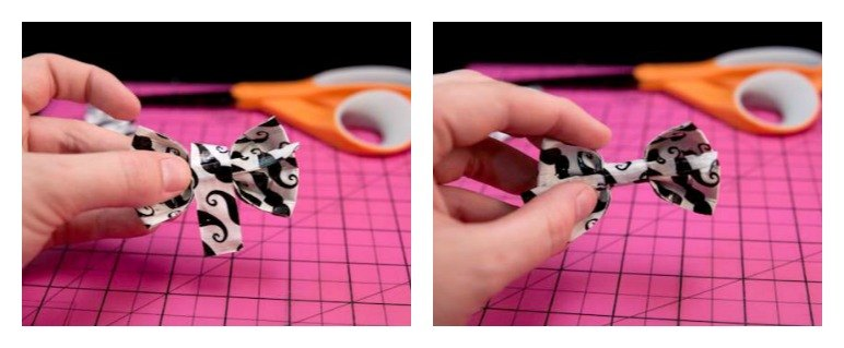 Duct Tape Bow Tutorial - The Ribbon Retreat Blog