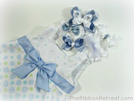 Easter Bows - {The Ribbon Retreat Blog}