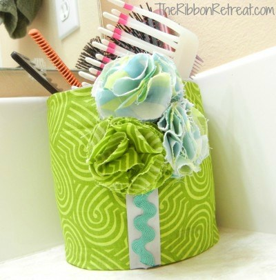 Easy Shower Curtain | The Ribbon Retreat Blog