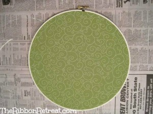 Embroidery Hoops - {The Ribbon Retreat Blog}