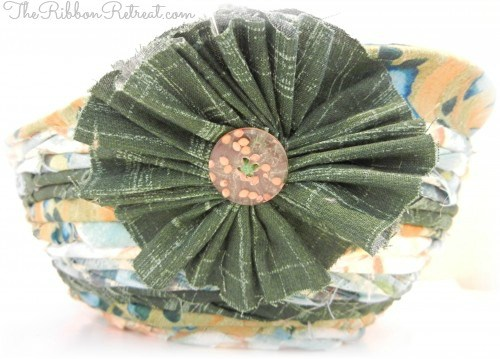 Fabric Bowl Tutorial - {The Ribbon Retreat Blog}