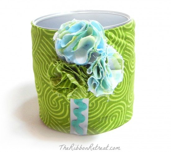 Fabric Comb Holder - {The Ribbon Retreat Blog}