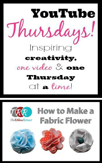How To Make A Fabric Flower - The Ribbon Retreat Blog