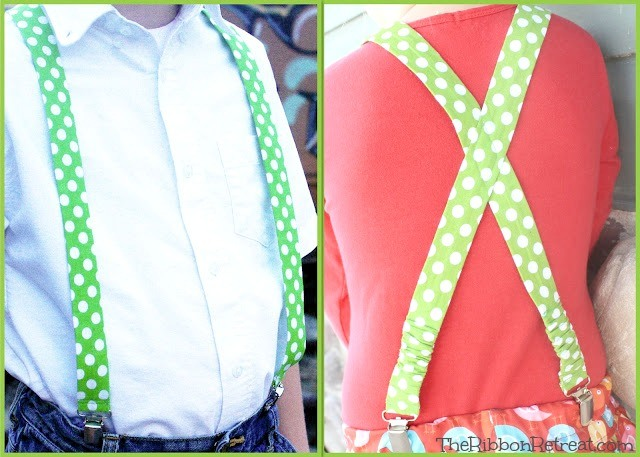 Fabric Suspenders - The Ribbon Retreat Blog