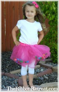 Fairytale Tutu Makeover - {The Ribbon Retreat Blog}