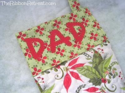 Family Stockings - {The Ribbon Retreat Blog}