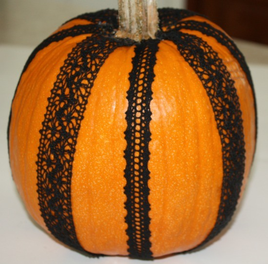 Fancy and Frilly Pumpkins - The Ribbon Retreat Blog