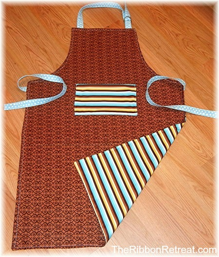 Father's Day Apron - {The Ribbon Retreat Blog}