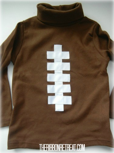 Football Shirt - {The Ribbon Retreat Blog}