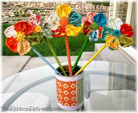 Fresh Flowers - {The Ribbon Retreat Blog}