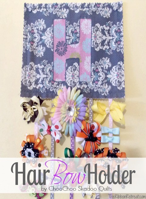 Hair Bow Holder - The Ribbon Retreat Blog