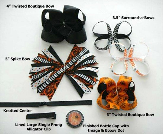 how to make ribbon boutique bows
