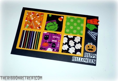 Happy Halloween Card - {The Ribbon Retreat Blog}