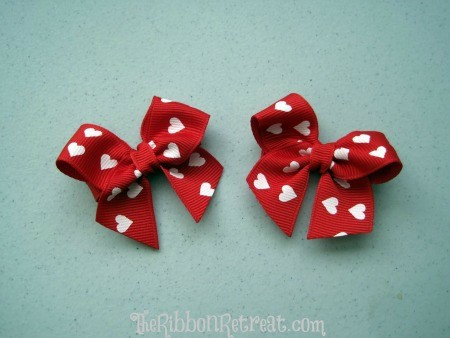 Hearts Bow - {The Ribbon Retreat Blog}
