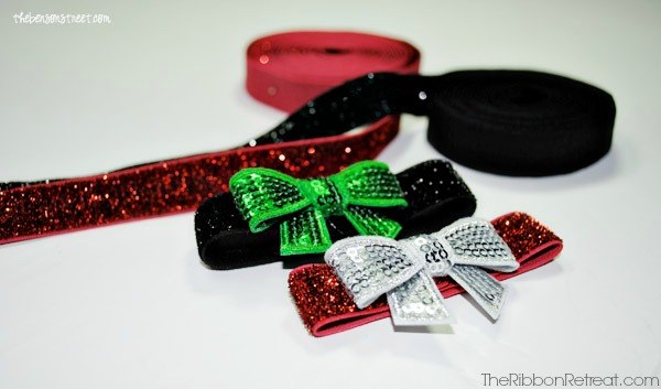 Holiday Bow Bracelets - The Ribbon Retreat Blog