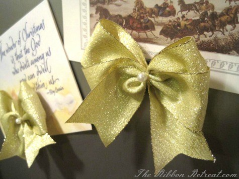 Holiday Magnet - {The Ribbon Retreat Blog}