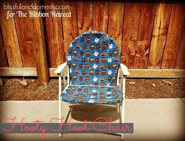 Hooty Hoot Chair - The Ribbon Retreat Blog