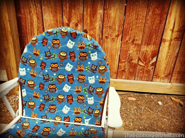 Hooty Hoot Chair - The Ribbon Retreat Blog