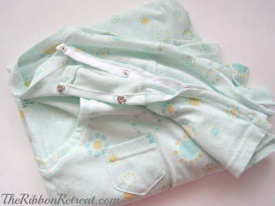 Hospital Gown - {The Ribbon Retreat Blog}